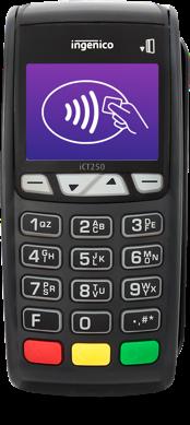 Ingenico ict 250 debit card reader, credit card machine